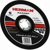 Абразивный отрезной круг HERMAN STANDART 125х2,0х22,23мм, в Дмитрове
