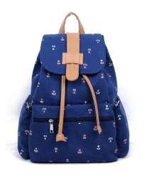 Рюкзак синий для элегантной девушки, в г.Запорожье