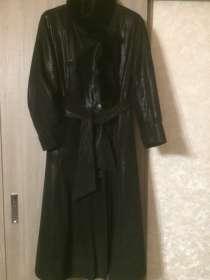 Продаю пальто д/с размер50-52 эко-кожа, в Анапе