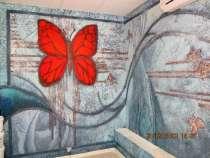 Декоративная штукатурка, декоративная покраска стен в Рязани, в Рязани