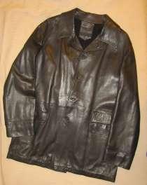 Куртка кожаная Gian Carlo Rossi размер 52, в Санкт-Петербурге