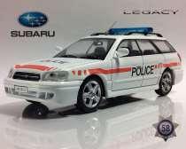 полицейские машины мира №58 SUBARU LEGACY полиция швейцарии, в Липецке