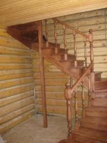 Лестницы из дерева лиственница,ясень,дуб, в Мытищи