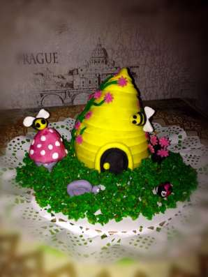 Торт с мастикой в Москве Фото 1
