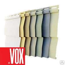 Сайдинг, комплектующие VOX. Выгодная цена
