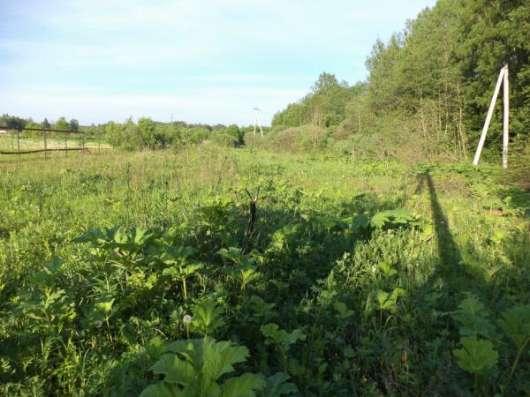 Продается земельный участок 16 соток в д. Тропарево (под ЛПХ), Можайский р-он,110 км от МКАД по Минскому шоссе. Фото 1