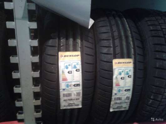 Новые Dunlop 185 65 R15 Sport Blu Response