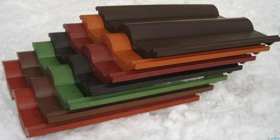 Черепица полимерпесчаная 390*310*10мм