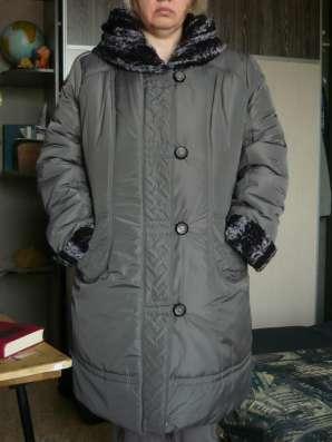 Пальто зимнее болоневое
