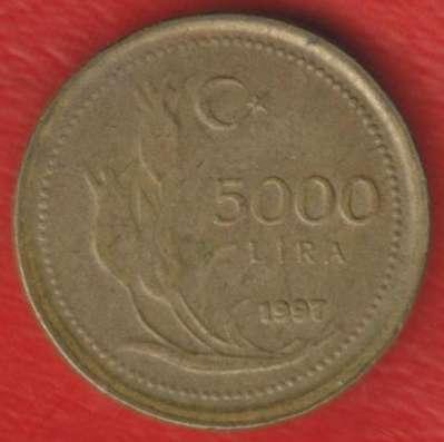 Турция 5000 лир 1997 г.
