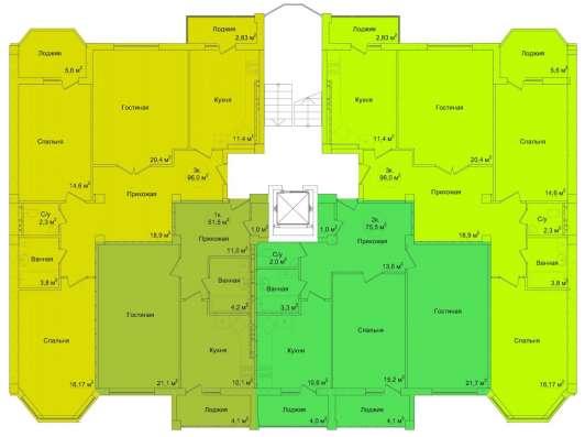 Продам 1-комнатную Севастопольская жк изумрудный 4 очередь