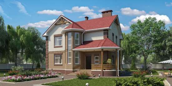 Проекты жилых домов, коттеджей, бань, гаражей. Смета в г. Минск Фото 1