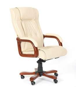 653 белое кресло