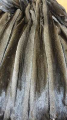 Шкурки норки СТК коричневой