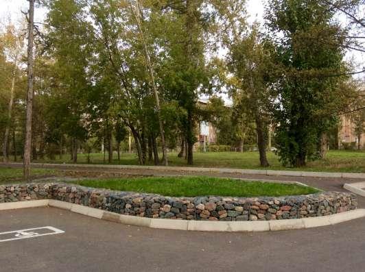 Габионы монтаж и наполнение в Красноярске Фото 5