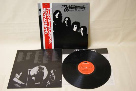 WHITESNAKE-1980 Made In JAPAN