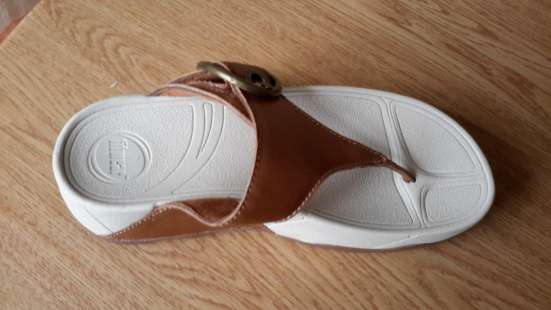 Летние туфли бежевые, комфот обувь