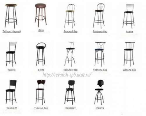 Мебель для кафе, баров и ресторанов от производителя.