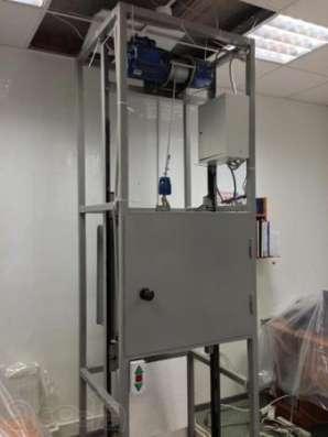 Промыщленные подъемники (грузовые лифты)