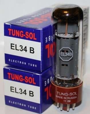 Радиолампы EL34B Tung-Sol
