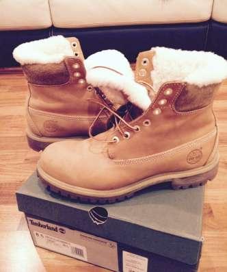 Timberland р 8.5 зимние ботинки