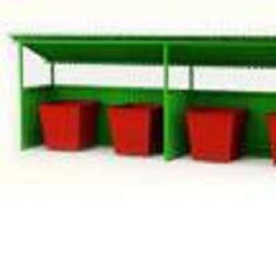 Бункер ТБО, контейнер ТБО, контейнерные площадки в г. Элиста Фото 1