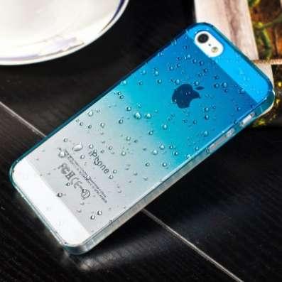 Чехол задник для iPhone 5 /5S Капли в Санкт-Петербурге Фото 1