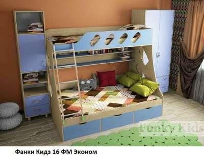 Фанки Кидз- Кровать для 2 детей 16ФМ