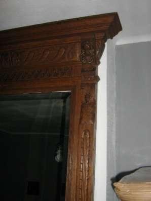 Антикварное зеркало в стиле Ренессанс Западная Европа, Бельгия Зеркало в раме в Ростове-на-Дону Фото 3
