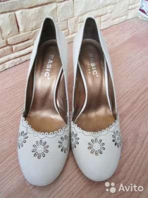 туфли женские натуральная кожа р 38  BASIC