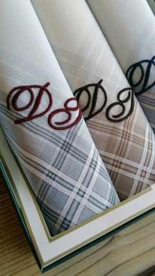 Вышивка на носовых платках за 1 день