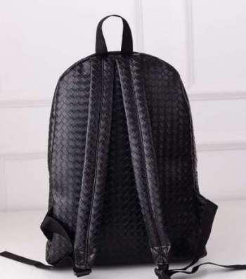 Рюкзак из черного кожзама (искусственная кожа, PU-кожа) в г. Запорожье Фото 2
