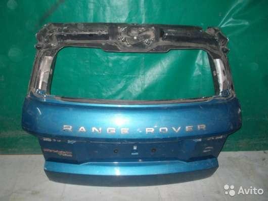 Крышка багажника на Land Rover Evoque
