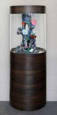 Цилиндрический аквариум (собственное производство) 150л в Миассе Фото 5