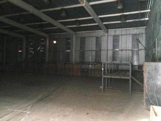 Складское помещение в 4 км от МКАД
