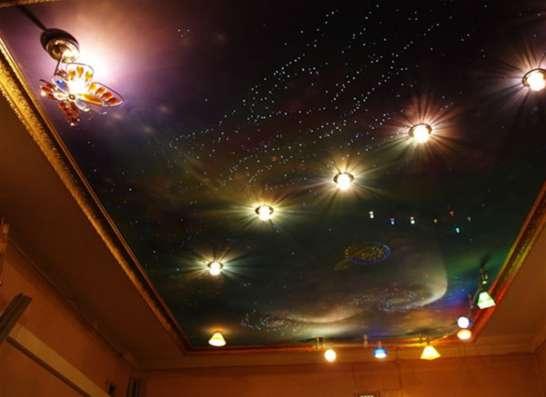 Натяжные потолки в Казани Фото 3