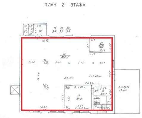 Производственно-складское помещение 769.3 м2 в аренду у метр в Санкт-Петербурге Фото 3