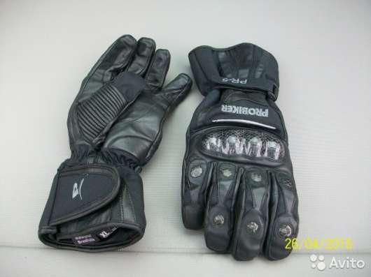 Кожаные перчатки Probiker PR-5 (новые - XL) в Москве Фото 4