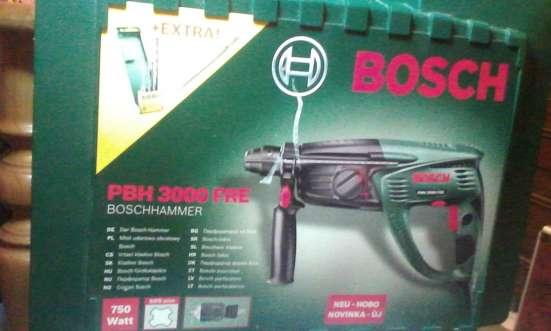 Перфоратор Bosch PBH 3000 FRE+ набор сверл
