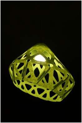 Плафон ZAHA LIGHT. Белый, желтый и зеленый в Санкт-Петербурге Фото 3