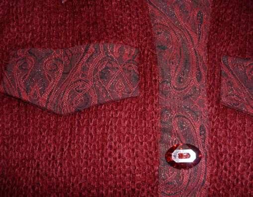 Рубашка вязаная, шерсть (мохер), р-44(46) в Новосибирске Фото 5