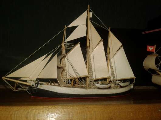 Модели кораблей 1:50