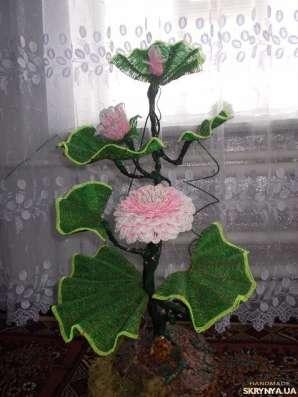 Лилия из бисера большая в г. Калиновка Фото 3