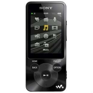 аудио плеер Sony NWZ-E584 8Gb Black в Бердске Фото 1