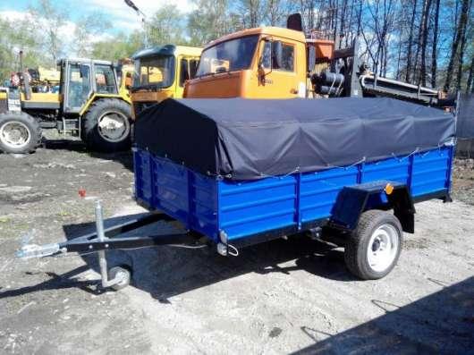Прицеп для легкового автомобиля 2700х1560 с тентом и дугами