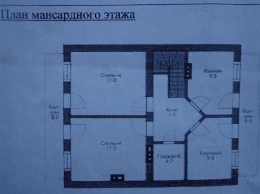 Дача 2-этажа, 160 кв. м пеноблок. Без отделки в г. Михнево Фото 1