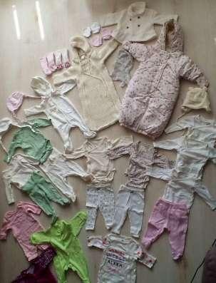 Полный комплект одежды для девочки осень-зима (р. 56-68)