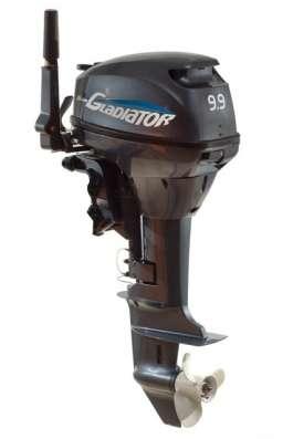Лодочный мотор Гладиатор 9.9 (15) л. с. 2Т, 2016 г