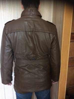 Куртка мужская новая коричневая 52-54 размер