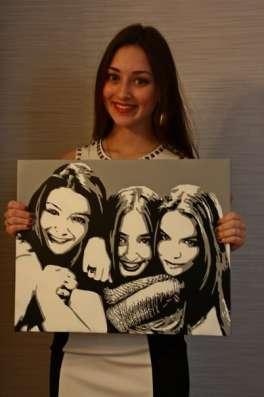 ПОП АРТ портрет с Вашим фото